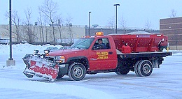 Snow Removal at parking lot