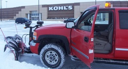 Snow Removal at Kohls
